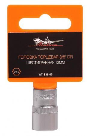 Головка AIRLINE AT-S38-05 торцевая 3/8 dr шестигранная 12мм