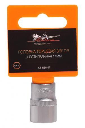 Головка AIRLINE AT-S38-07 торцевая 3/8 dr шестигранная 14мм