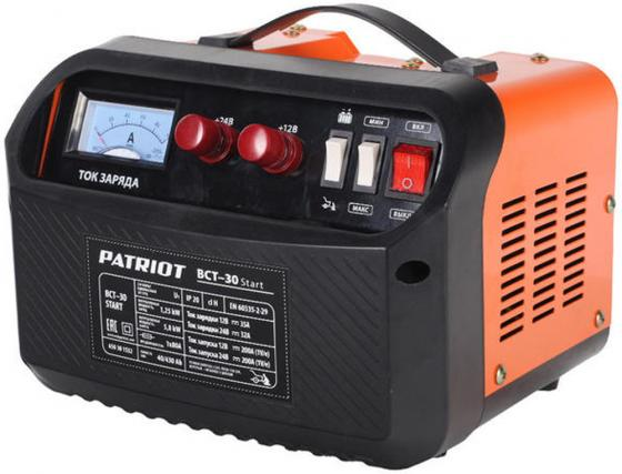 Устройство пуско-зарядное PATRIOT BCT- 30 Start 220В±15% 1250Вт 12/24В з/п35.0/200А 40-430А/ч 8.3к пускозарядное устройство patriot bct 30 start