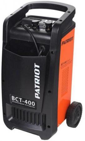 Устройство пуско-зарядное PATRIOT BCT-400 Start 220В±15% 2250Вт 12/24В з/п60/250А 65-700А/ч 14.5кг пускозарядное устройство patriot bct 30 start