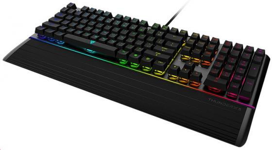 Клавиатура ThunderX3 AK7, механическая игровая, свичи blue, с RGB подсветкой механическая клавиатура с подсветкой ikbc f 87 pbt keycap cherry mx swiches