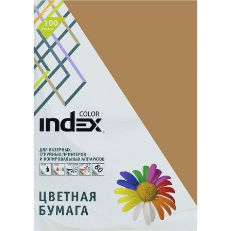 Цветная бумага Index Color IC19/100 A4 100 листов