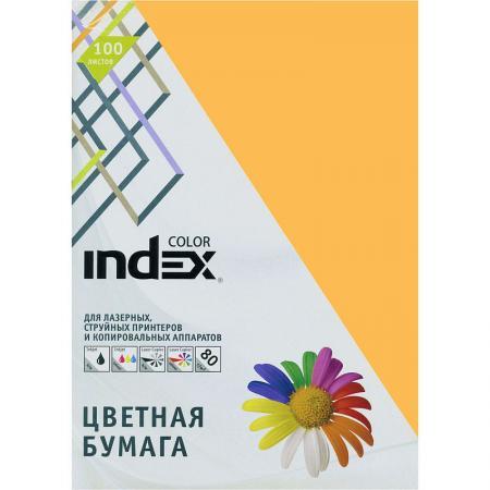 Цветная бумага Index Color IC59/100 A4 100 листов