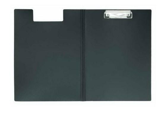 Клип-борд METALLIC, двойной, ф.А4, пластик, черный клип борд а4 metallic пластик темно синий icb01 bu