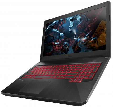 Купить Ноутбук ASUS TUF Gaming FX504GM-EN391 15.6 1920x1080 Intel Core i5-8300H 1 Tb 16Gb Bluetooth 5.0 nVidia GeForce GTX 1060 3072 Мб серый Без ОС 90NR00Q3-M08380