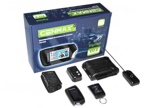 цена на Автосигнализация Cenmax Vigilant V12-D с обратной связью брелок с ЖК дисплеем