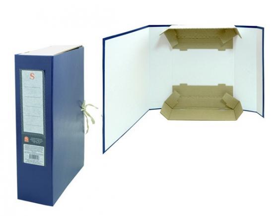 Короб архивный цельнокроенный на 2-х завяз.,разборный, SPONSOR, бумвинил, 80 мм цвет ассорти резинки упаковочные alco 2768 1 х образные 150х11мм 0 1кг ассорти