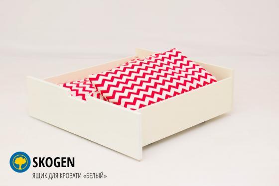 Ящик для кровати Бельмарко Skogen Classic (белый)