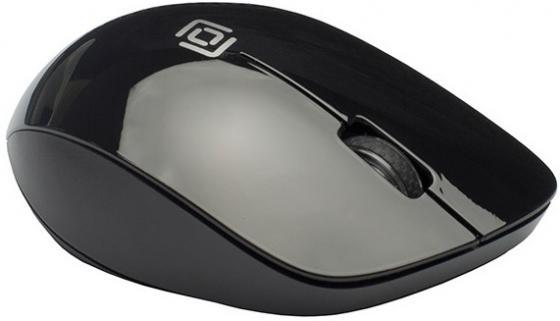Мышь Oklick 695MW черный оптическая (1000dpi) беспроводная USB (3but) мыши oklick мышь oklick 475mw черный серый оптическая 1200dpi беспроводная usb 3but