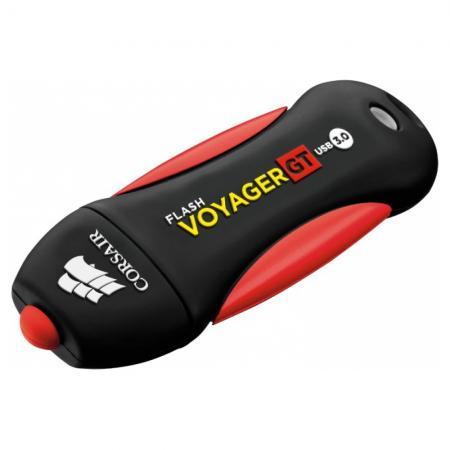 все цены на Флеш Диск Corsair 256Gb Voyager GT CMFVYGT3C-256GB USB3.0 черный/черный