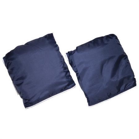 Муфта-варежки для рук Mr Sandman для детской коляски Т. Синий муфта варежки bambola для коляски шерстяной мех плащевка лайт бежевые