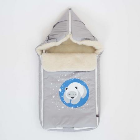 Конверт Mr Sandman Bear Светло-Серый подушка декоративная огого обстановочка 45х45 см scandinavia 318969