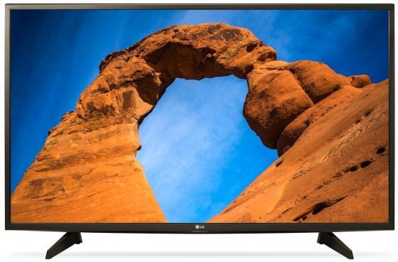 Телевизор 43 LG 43LK5100 черный 1920x1080 50 Гц USB телевизор lg 43 43uu640c черный