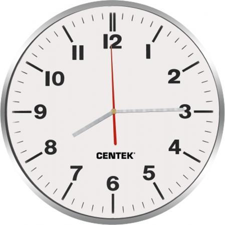 Часы настенные Centek СТ-7100 White часы настенные apeyron pl 7214 white black