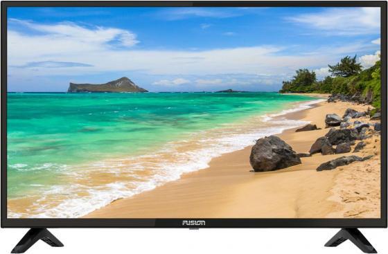 Телевизор LED 32 FUSION FLTV-32B110T черный 1366x768 VGA телевизор led 24 fusion fltv 24a100t черный 1366x768 usb hdmi ci slot vga разьем для наушников