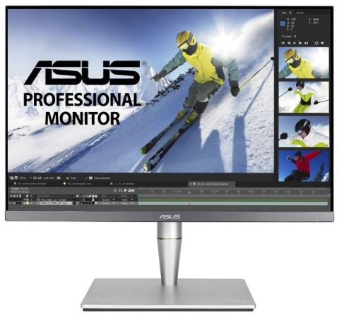 Фото - ASUS PA24AC, 24.1 Wide LED IPS monitor, 16:10, 1920x1200, 5ms(GTG), 400 cd/m2, 10M :1, 178°(H), 178°(V), 100% sRGB, ?E< 2, DisplayHDR 400, DP over USB-C, DP, HDMI, USB3.0, speakers 2Wx2, Pivot, Height adjustment, Swivel, Kensington lock, VESA 100x100 mm, TCO, Energy Star®, gray аксессуар mobiledata hdmi 4k v 2 0 плоский 1 8m hdmi 2 0 fn 1 8
