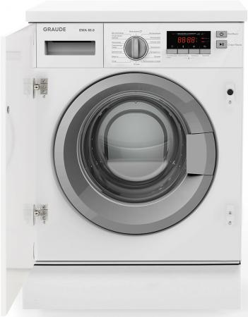 Встраиваемые стиральные машины Graude/ 595 х 825 х 540 мм, Класс энергопотребления: А++,Защита от детей,Система защиты от протечек (аквастоп), Акустическая индикация окончания программы,Отсрочка старта: до 24 часов,Макс. скорость отжима: 1200 об./мин,LED-дисплей,Цвет корпуса: белый,6 температур стирки: холодная вода, 20°C, 30°C, 40°C, 60°C, 90°C, Уровень шума при отжиме: 74 дБ,Уровень шума: 57 дБ,Количество програм: 16,Загрузка для стирки: 6 кг,Класс эффективности отжима: B,Класс эффективности с