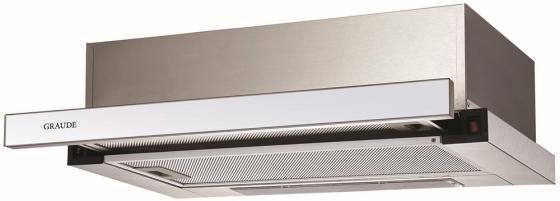 лучшая цена Вытяжка встраиваемая GRAUDE DHF 60.0 W нержавеющая сталь/белое стекло