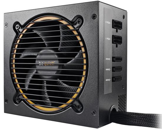 Блок питания be quiet! PURE POWER 11-CM 600W / ATX 2.4, Active PFC, 80PLUS Gold, 120mm fan, CM / BN298 / RTL