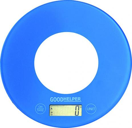 Весы кухонные Goodhelper KS-S03 голубой весы goodhelper bs sa56 гол