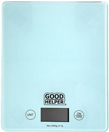Весы кухонные Goodhelper KS-S04 голубой кухонные весы bologna голубой