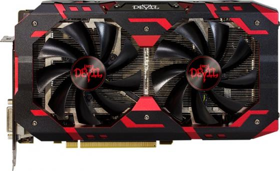 Видеокарта PowerColor Radeon RX 590 Red Devil PCI-E 8192Mb GDDR5 256 Bit Retail AXRX 590 8GBD5-3DH/OC видеокарта powercolor 8192mb rx 570 axrx 570 8gbd5 dhdm dvi