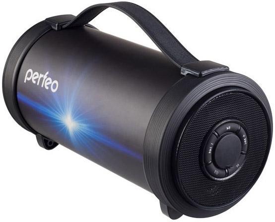 Perfeo Bluetooth-колонка PF_A4317 FM, MP3, USB, EQ, AUX, мощность 19Вт, 4400mAh, черный