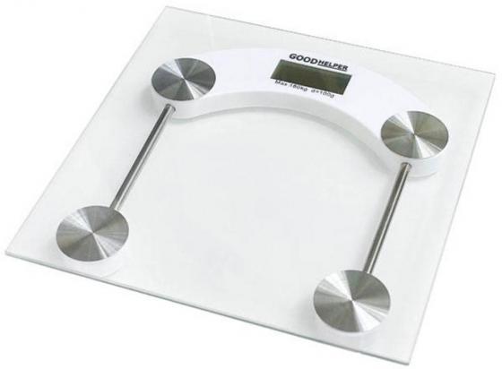 Весы напольные Goodhelper BS-S51 прозрачный мультиварка goodhelper c202