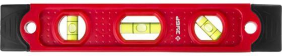 Уровень ЗУБР 3459 МАСТЕР ТОРПЕДО пластмассовый, магнитный, 4 ампулы, 230мм уровень зубр мастер торпедо 230mm 3459