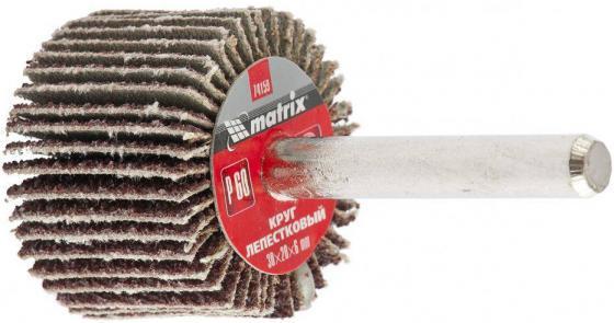 Круг Лепестковый Радиальный (КЛ) MATRIX 74158 30 х 20 х 6мм p 40