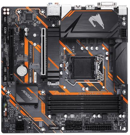 Материнская плата GigaByte B360 M AORUS PRO Socket 1151 v2 B360 4xDDR4 2xPCI-E 16x 1xPCI-E 1x 6 mATX Retail