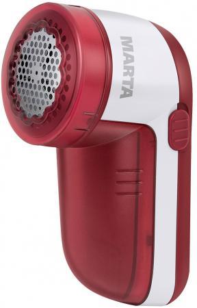 MARTA MT-2230 Машинка для удаления катышков красный гранат машинка для снятия катышков philips gc 026 00