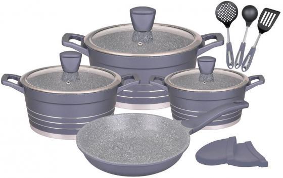 купить 1309-WR Набор посуды WINNER 12 пр.Подходит для индукц.плит и чистки в посудомоечной машине. дешево