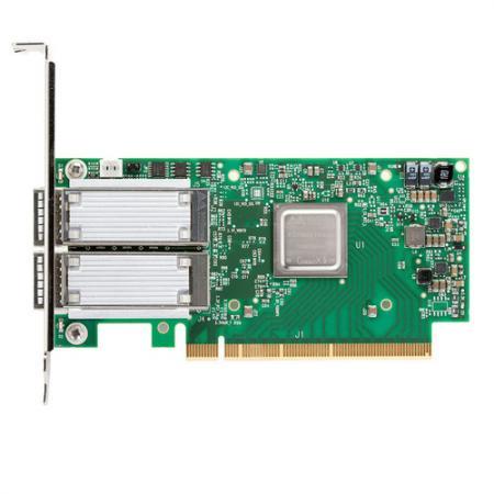 ConnectX®-5 EN network interface card, 100GbE dual-port QSFP28, PCIe3.0 x16, tall bracket, ROHS R6 ginzzu r6 dual