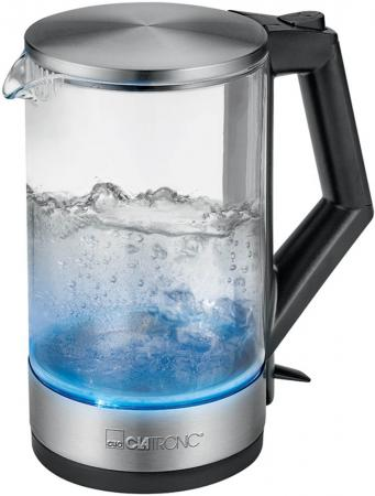 Чайник Clatronic WKS 3641 G inox чайник clatronic wk 3501