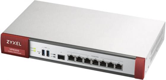 ZYXEL VPN300 ZyWall VPN Firewall Appliance 7 GE Copper/1 SFP, 3000 Mbit/S Throughput, 300 Ipsec Tunnels