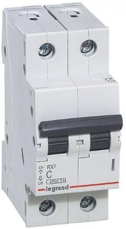 RX3 Авт.выключатель 4,5кА 50А 2П C