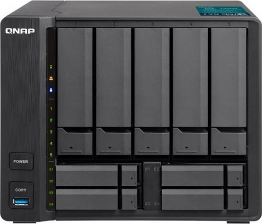 "SMB QNAP TVS-951X 9-Bay NAS, Intel Celeron 3865U dual-core 1.8 GHz , 8GB DDR4 (2 x 4GB) SODIMM RAM ( 2 slots, max 32GB), 5 x 3.5"" and 4 x 2.5"" drive slots, 1 x 10GbE NBASE-T LAN, 1 x GbE LAN, 1 x HDMI v1.4b, 3 x USB 3.0, hardware encryption, spesker, max 2 x UX-800P/UX-500P expansion unit qualitypark 37863 clasp envelope 6 1 2 x 9 1 2 28lb brown kraft 100 box"