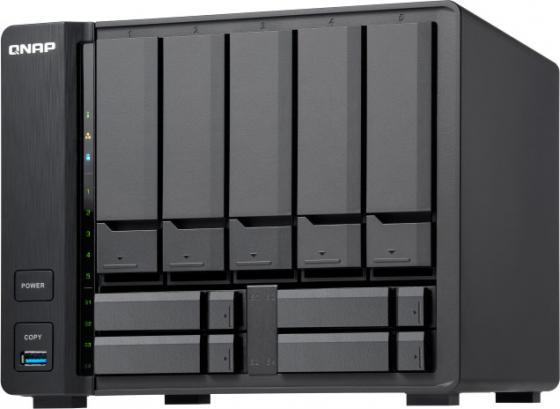 channel QNAP TS-932X-2G 9-Bay NAS, AL324 64-bit quad-core 1.7GHz, 2GB DDR4 SODIMM RAM (1 x 2GB, max 16GB), 5 x 3.5 and 4 x 2.5 drive slots, 2 x 10GbE SFP+ LAN, 2 x GbE LAN, 3 x USB 3.0, hardware encryption, Built-in speaker, max 2 UX-800P/UX-500P expansion units rkm rikomagic mk902 quad core android 4 2 google tv player w 2gb ram 8gb rom mk750 air mouse