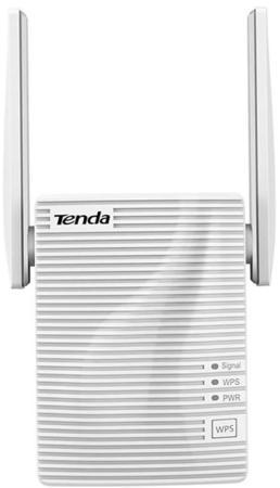 Tenda WiFi Range Extender A15 (WLAN 750Mbps, 2.4+5GHz, 802.11ac, ) 2x ext Antenna tenda wifi range extender a15 wlan 750mbps 2 4 5ghz 802 11ac 2x ext antenna
