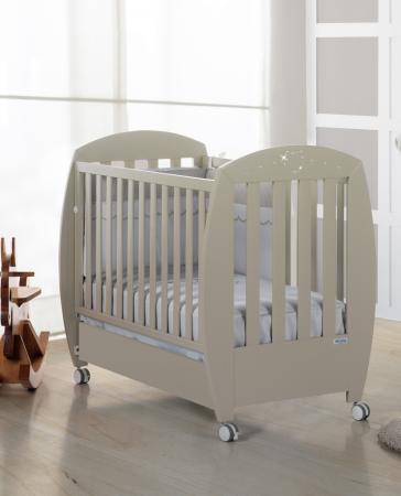 купить Кроватка 120x60 Micuna Valeria Relax Luxe(Sand) по цене 24190 рублей