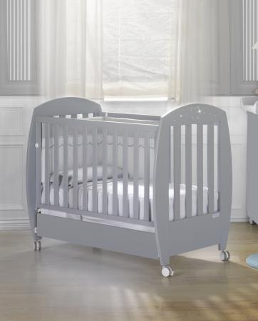 купить Кроватка 140x70 Micuna Valeria Relax Luxe Big(Berliner Grey) по цене 36490 рублей