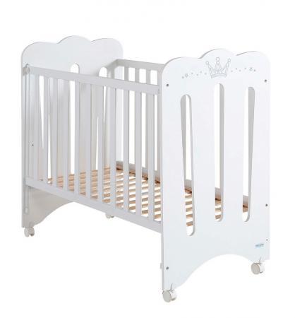 Кроватка 120x60 Micuna Meghan Матрас полиуретановый СН-620(White) цена
