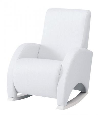 Кресло-качалка с Relax-системой Micuna Wing/Confort White Кожаная обивка(Цвет обивки: Leatherette White) радиотелефон gigaset a120 white