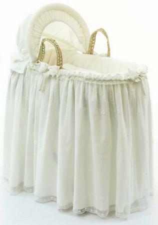 Корзина-переноска плетёная с капюшоном Funnababy Premium Baby (cream) балдахин funnababy my bear
