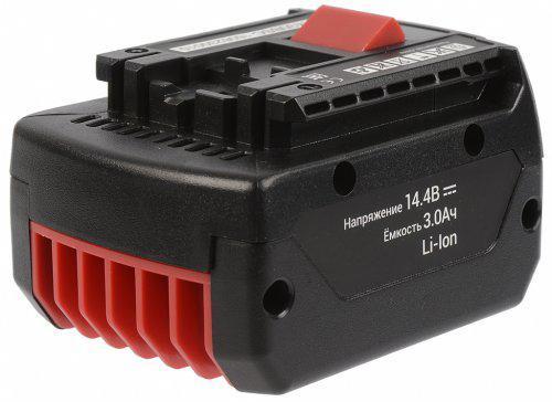 Аккумулятор для Bosch Li-ion 2607336078, 2607336150, 2607336224, 2607336552, 2607336800, 2607336814 аккумулятор для газонокосилки bosch rotak 34li 37li 43li ake 30 li ahs 54 li