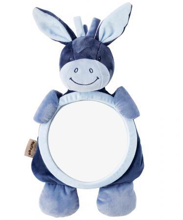 Зеркало для контроля за ребенком Nattou Mirror for car Alex Bibou Ослик и Кролик 321334 xyivyg chrome abs mirror cover for nissan pathfinder 05 06 07 08 09 10 11 12 for xterra 05 15 for frontier 05 16
