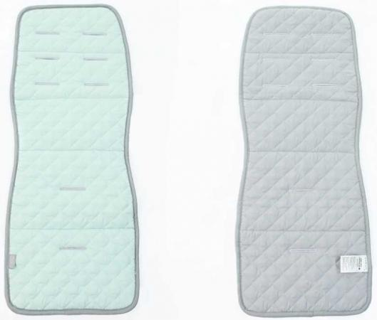Матрас в коляску Ceba Baby Caro (mint/grey) матрас в коляску ceba baby caro mint grey