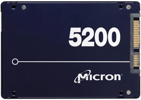 SSD жесткий диск SATA2.5 1.92TB 5200 MAX MTFDDAK1T9TDN CRUCIAL
