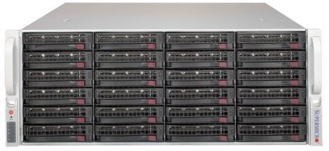 Корпус для сервера 4U 1200W CSE-846BE1C-R1K23B SUPERMICRO цена